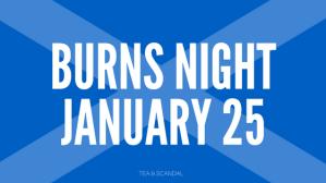 Burns Night January 25