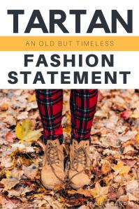 TARTAN: Timeless Fashion Statement