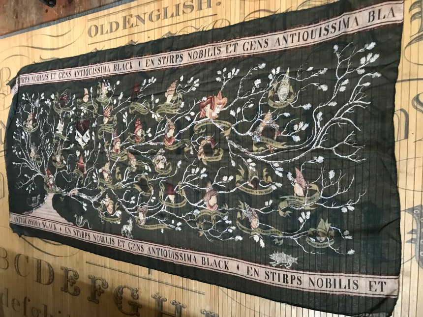Black Family Tree Tapestry J. K. Rowling's Wizarding World Loot Crate
