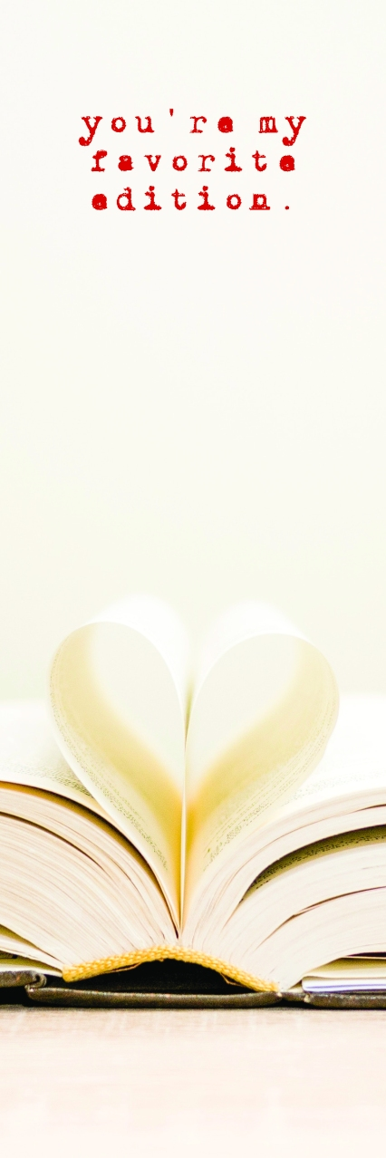 Valentine Bookmark 2