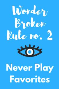 Wonder Rule no. 2