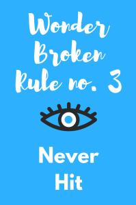 Wonder Rule no. 3