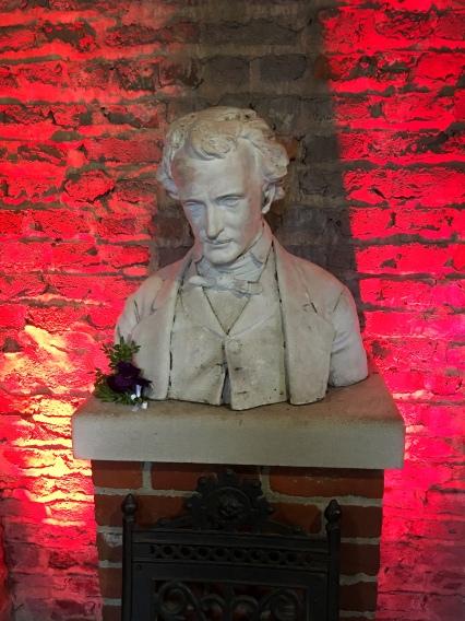 Poe Museum - Richmond, VA - Poe Shrine - Poe Bust